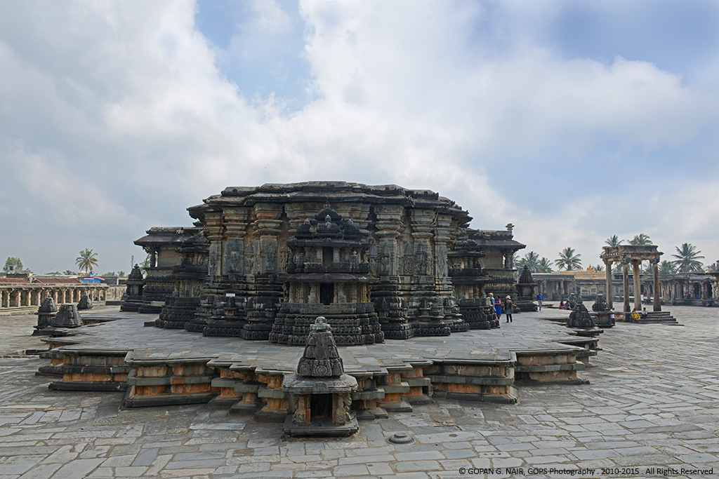 Rear View of Chennakesava Temple, Belur