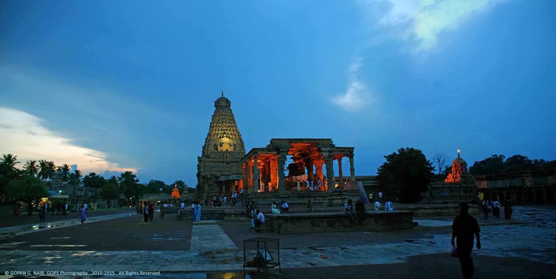 THE BIG TEMPLE, THANJAVUR, TAMIL NADU, INDIA