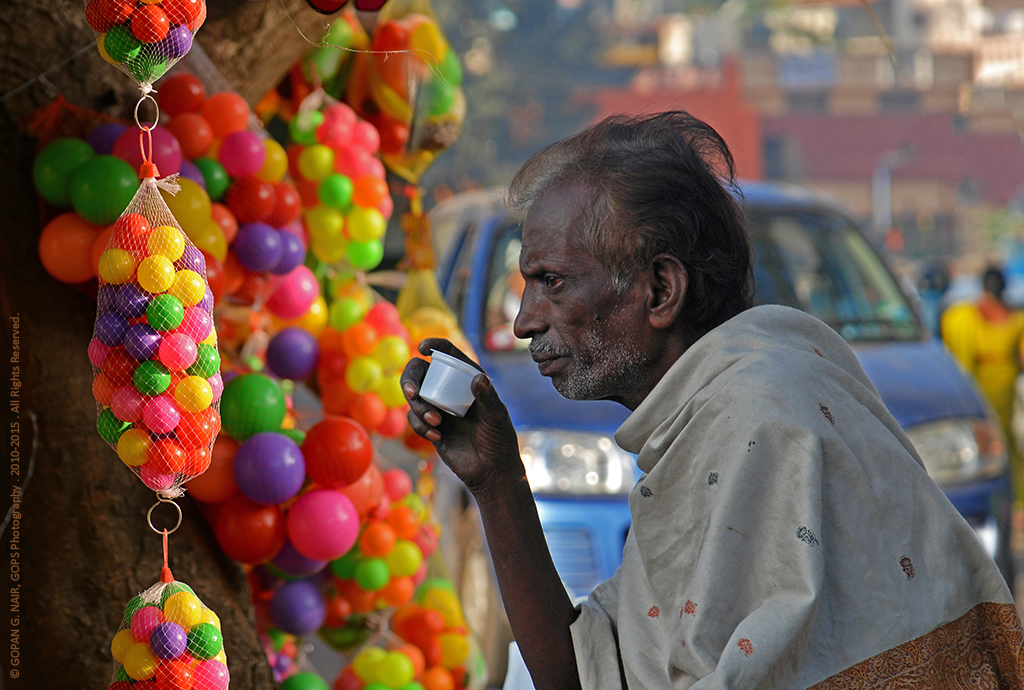 COLOURLESS LIFE IN MY COLOURFUL INDIA