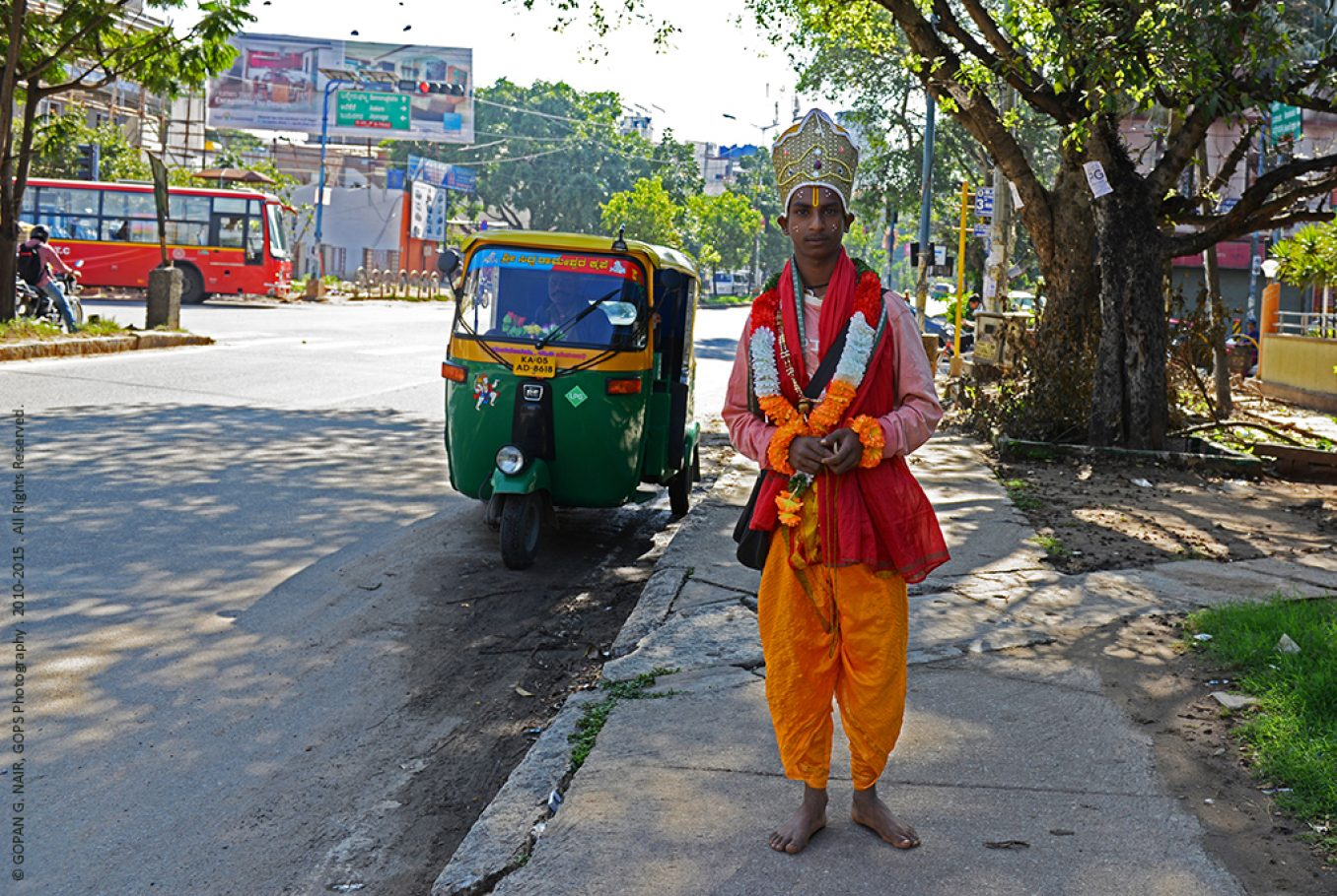 WHEN I MET GOD ON THE STREETS OF BANGALORE