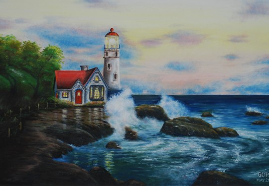The Lighthouse at Twilight