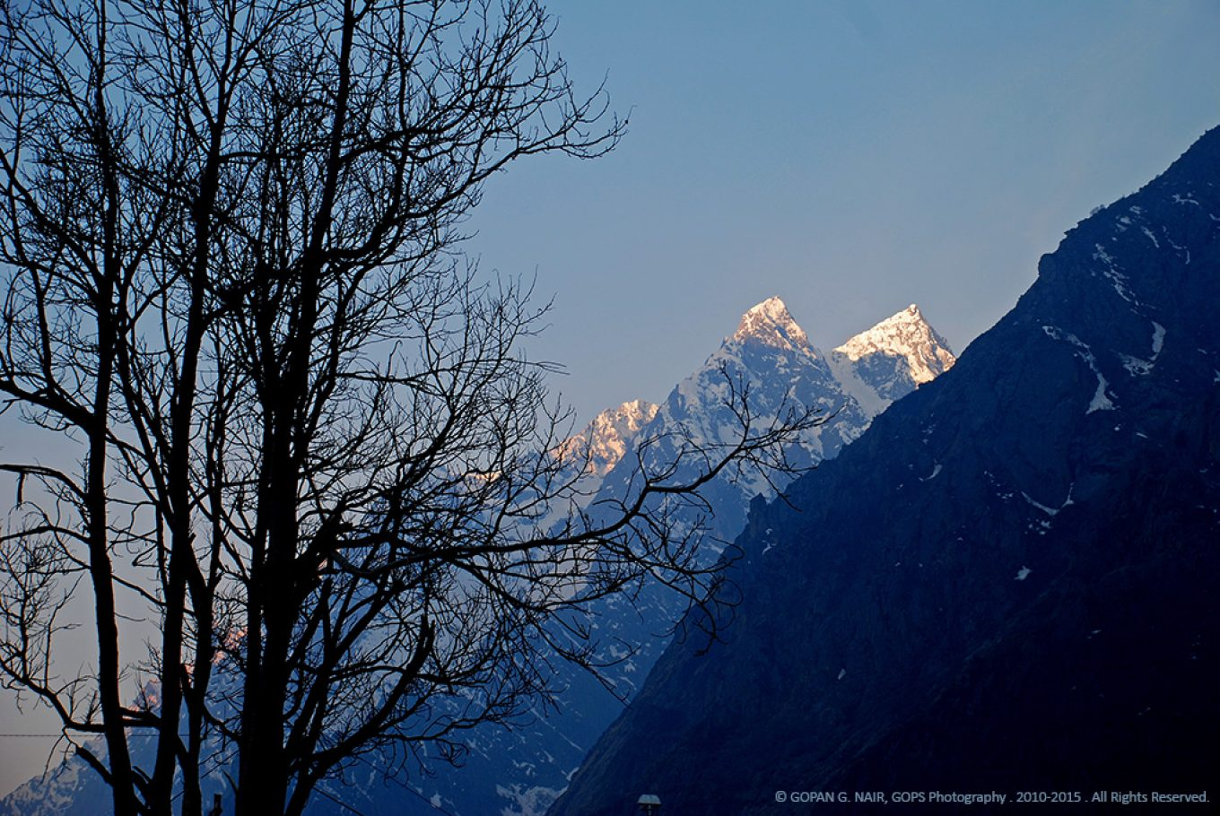 MORNING VIEWS FROM BADRINATH
