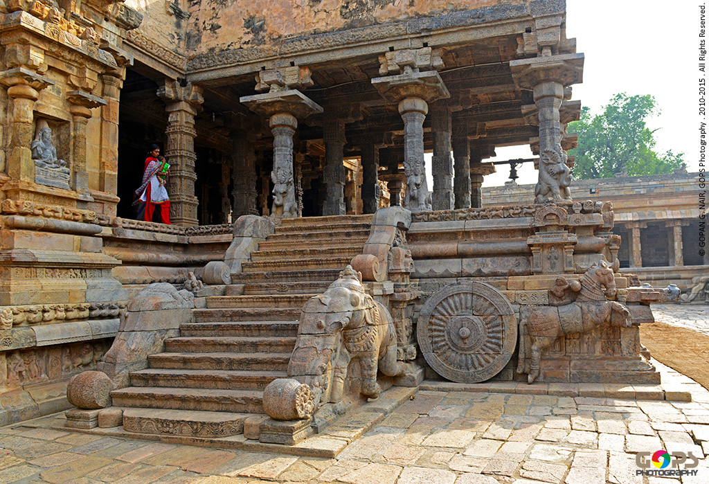 MUKHA MANDAPA OF AIRAVATESVARA TEMPLE AT DARASURAM