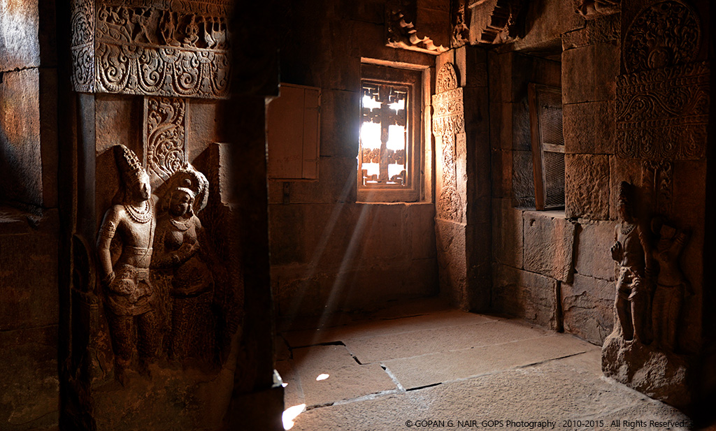 JOURNEY INTO THE PAST, RIDING ON A BEAM OF LIGHT. PATTADAKKAL