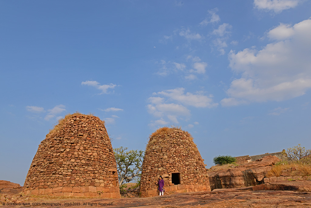 GRANARIES ON TOP OF THE FORT