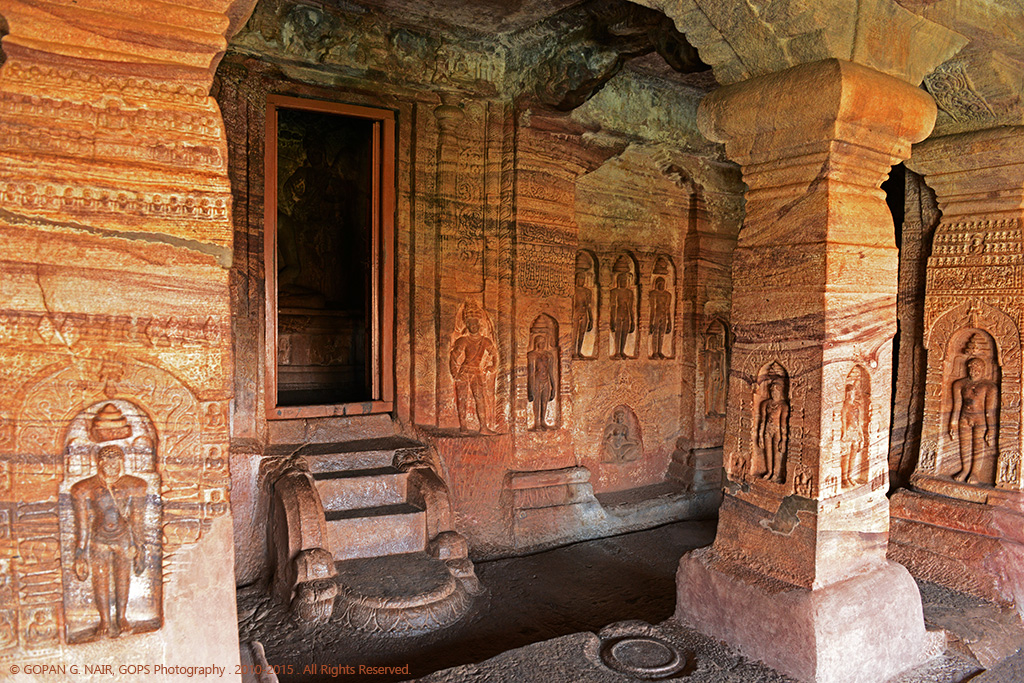 CAVE-4 , DEDICATED TO JAIN RELIGION