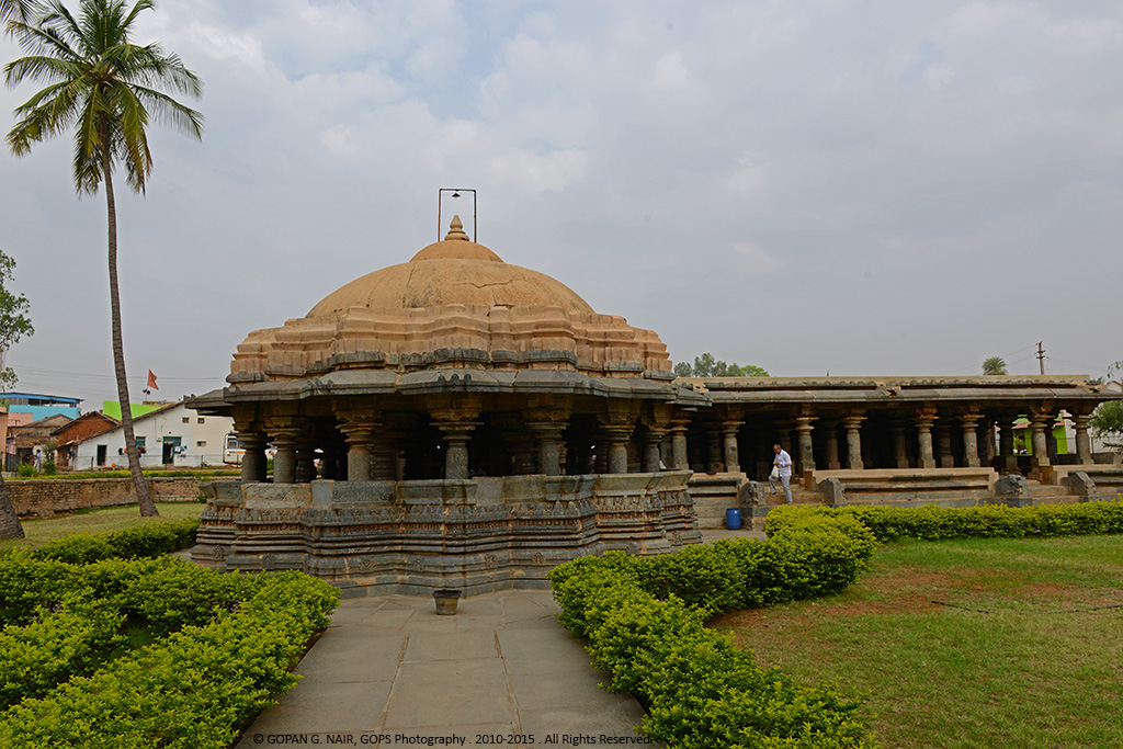 FRONT VIEW OF ISHVARA TEMPLE, ARSIKERE