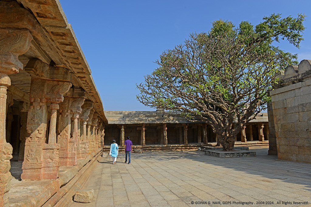 LEPAKSHI TEMPLE COURTYARD