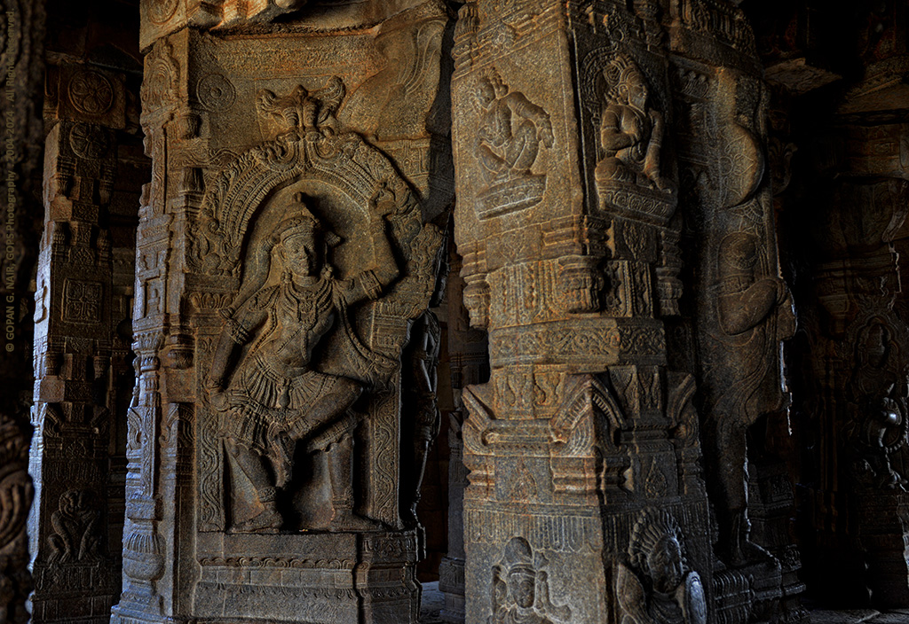 MARVELOUS CARVINGS INSIDE THE TEMPLE