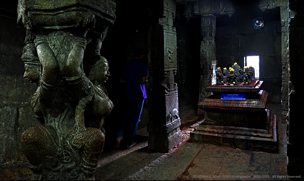 NAVAGRAHA WORSHIP INSIDE THE TEMPLE