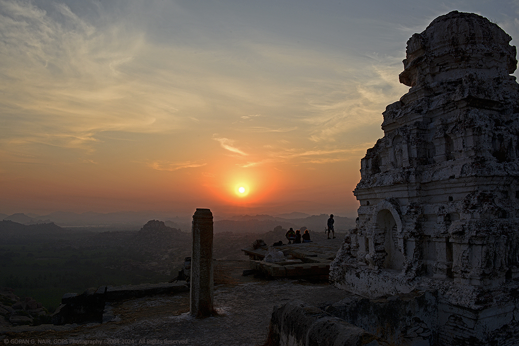 WHEN SUN RISES AT MATHANGA HILL