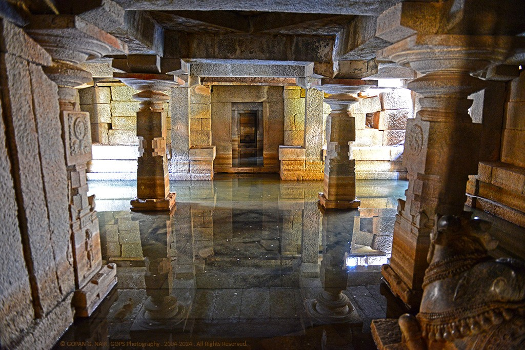 UNDERGROUND SHIVA TEMPLE SUBMERGED IN WATER