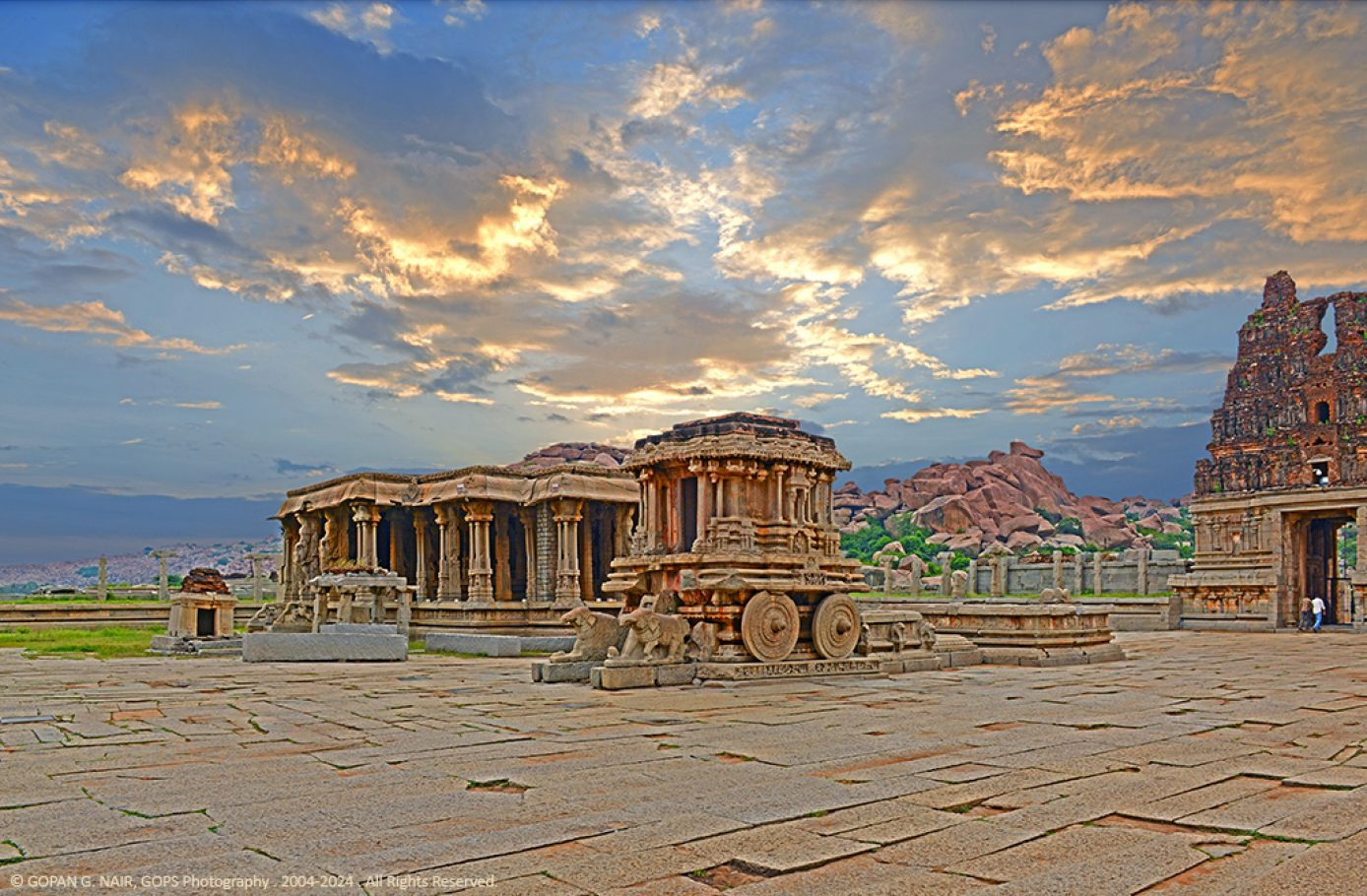 WHERE RUINS COME ALIVE. VITTALA TEMPLE, HAMPI