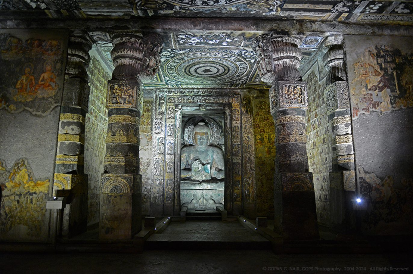 AJANTA CAVES INDIA